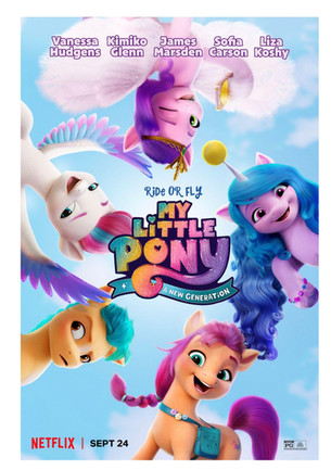 MY LITTLE PONY: A NEW GENERATION movie - On Netflix September 24!
