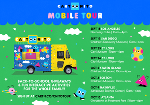 Cartoonito Donates 10,000 Backpacks to Preschoolers Across the Country!