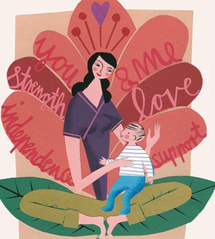 There's nobody stronger then a single parent!