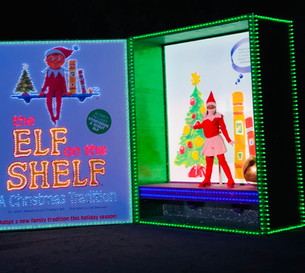 The Elf on the Shelf's Magical Holiday Journey, running​ now through January 3 at Fairplex Pomona!
