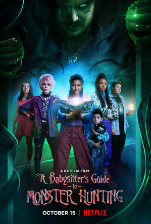 A BABYSITTER'S GUIDE TO MONSTER HUNTINGwill  release tomorrow on Netflix - Thursday, October 15th!