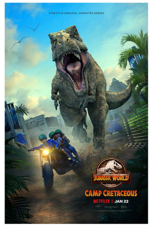 "DreamWorks Animation's Executive Producer Scott Kreamer""Jurassic World: Camp Cretaceous: Season 2."""