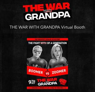 THE WAR WITH GRANDPA!