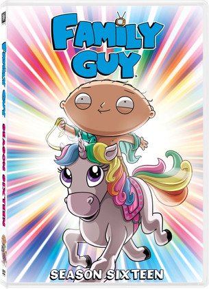 """Looking for a Stocking Stuffer? Look NO Further, """"Family Guy"""" Season Sixteen is on DVD NOW!"""