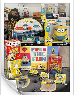 """Minions """"Free the Fun!"""""""
