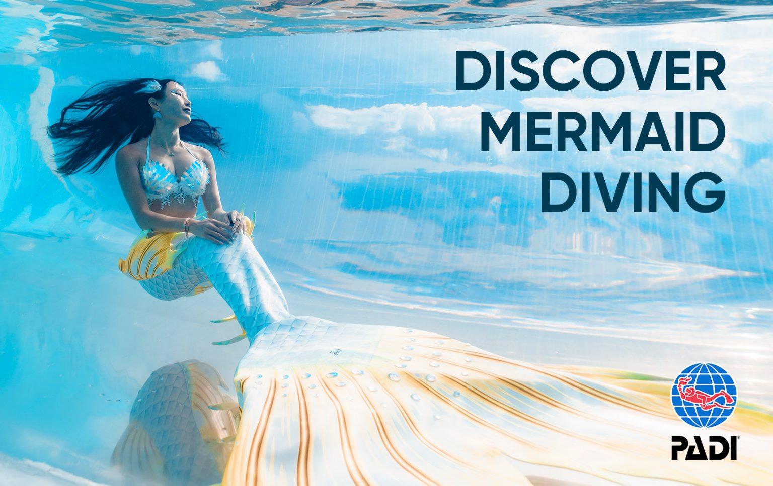 PADI Discover Mermaid Certification