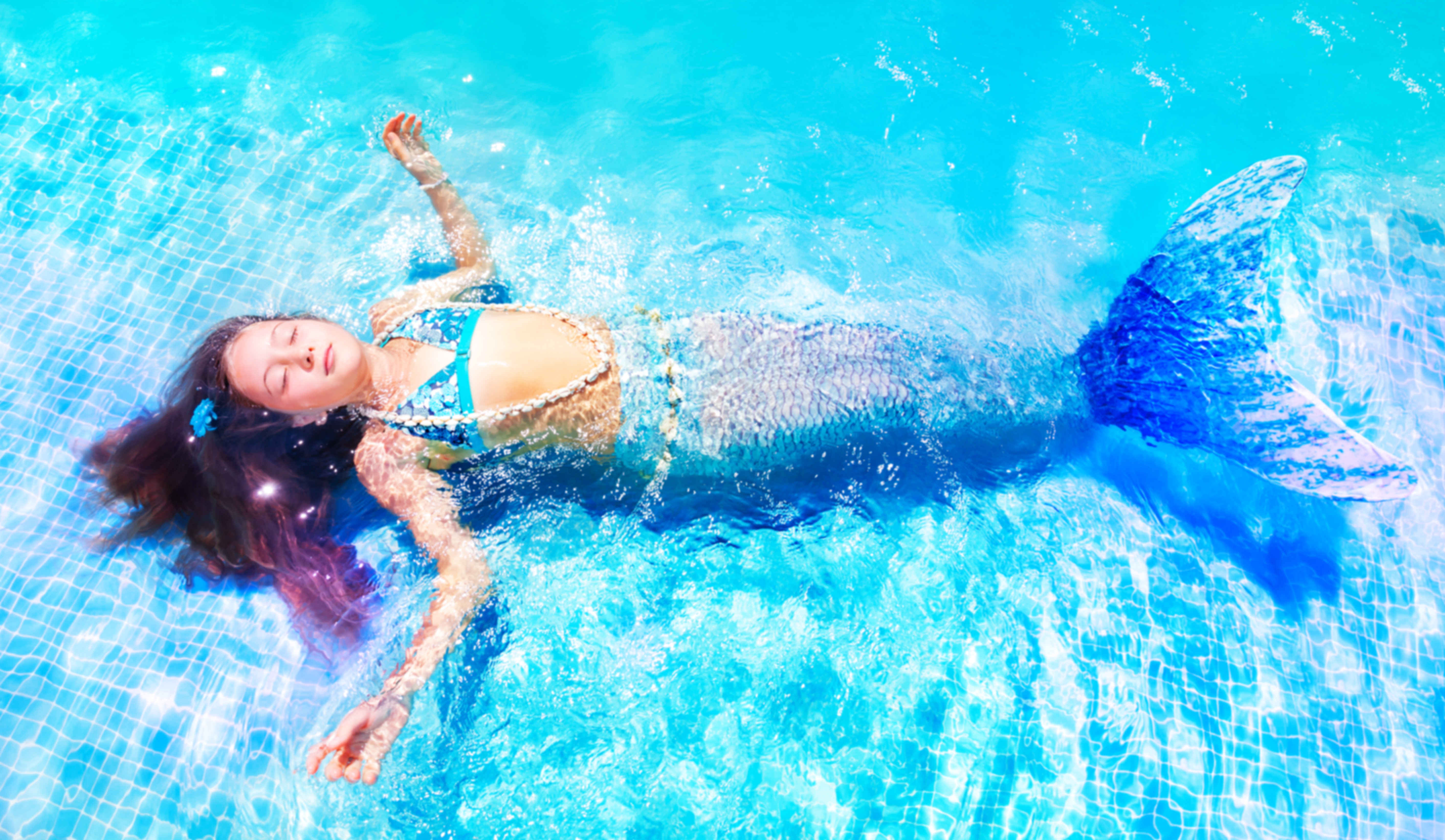 Los Angeles Southern California Mermaid Swim Lessons for Kids in Charter School or Home School