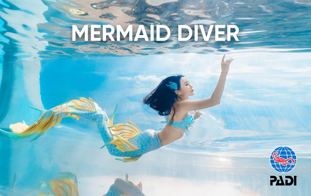 PADI Mermaid Cert - Course #1118