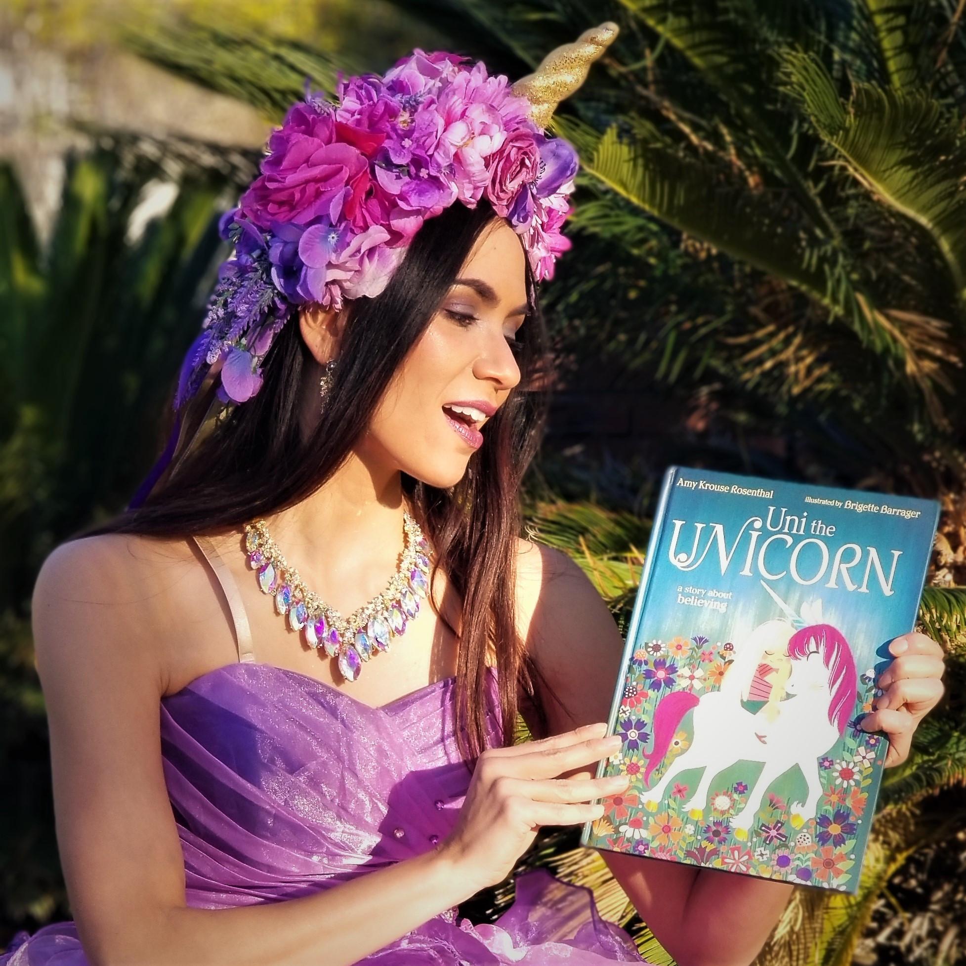 Unicorn Princess Zoom Party