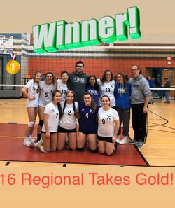1st Place-16 Regional