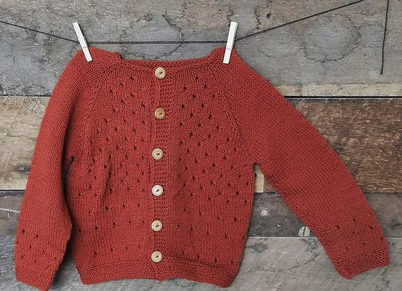Chaleco de lana T: 4-5