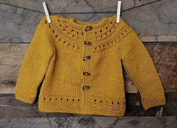 Chaleco de lana T: 1-2