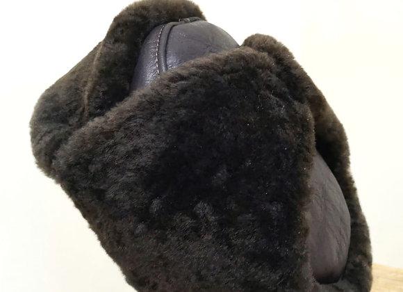 Gorro con orejas de chiporro natural