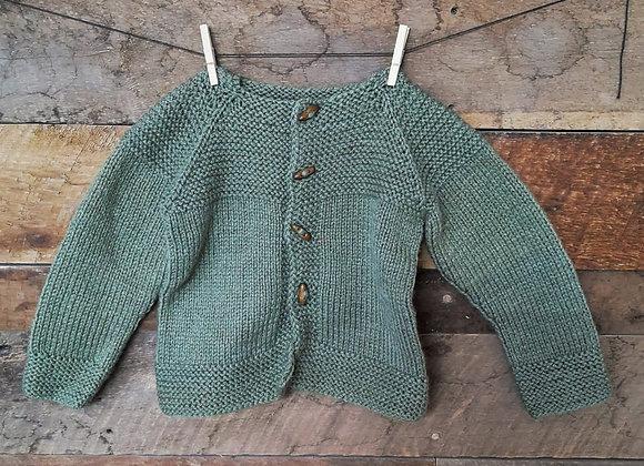 Chaleco de lana T: 5-6