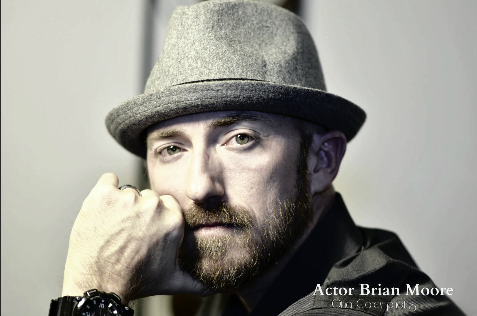 Actor Brian Moore Gina Carey Films