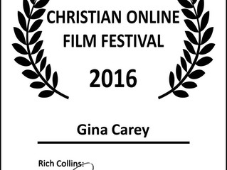 Gina Carey Wins, Best Director, Best Film , Best Overall cast and Best Soundtrack for her Movie, The