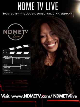 Gina Sedman NDME TV Live
