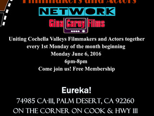 Gina Carey Films to Launch Coachella Valley Independent Filmmakers & Actors Networking Event at