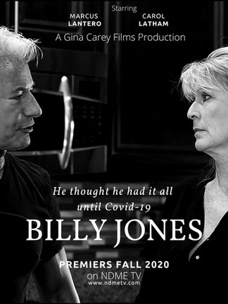 Billy Jones Black and White Poster 2 jpe