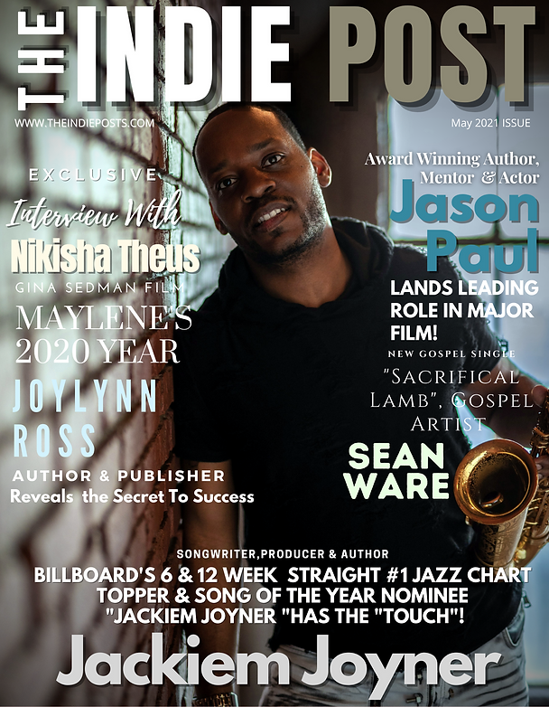 Jackiem Joyner The Indie Post Magazine C