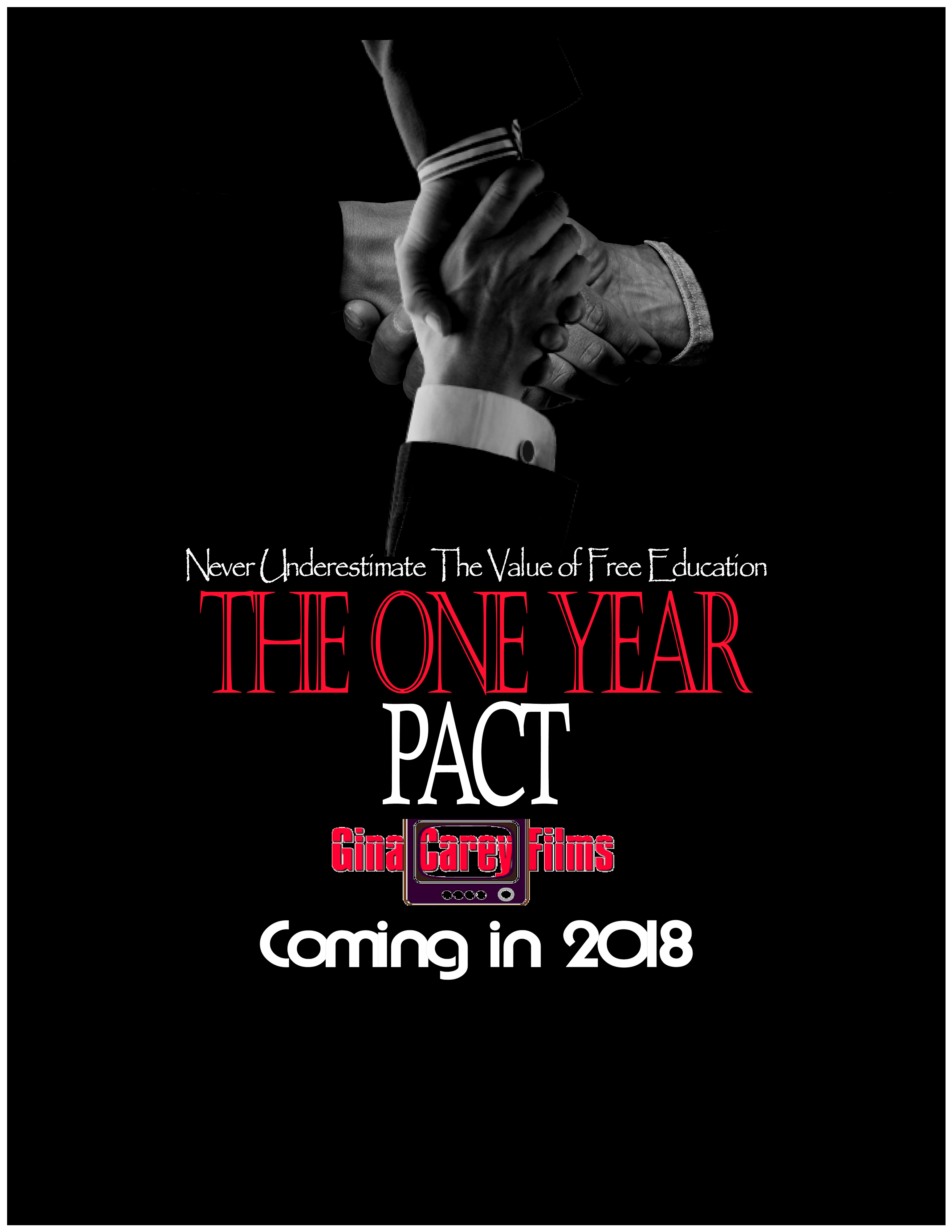The One Year Pact Advert Poster