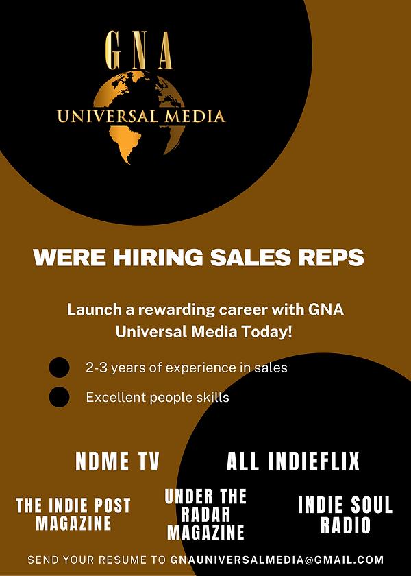 GNA Universal Media Now Hiring