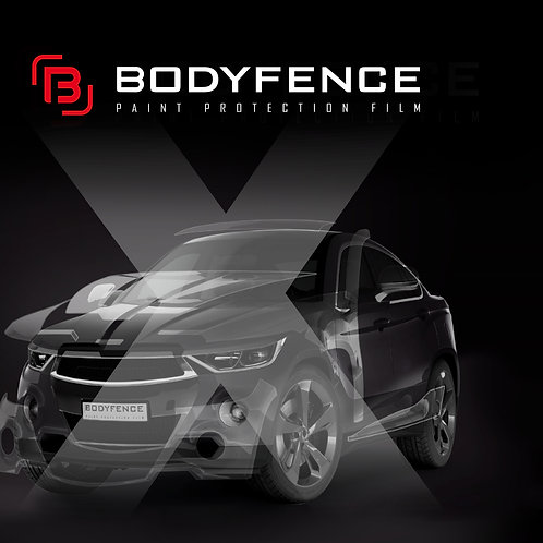 BodyFenceX Paint Protection Film Gloss 60inc*66ft