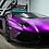 Thumbnail: HX30SCH06S Super Chrome Purple Satin