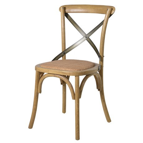 Bentwood X-Back Dining Chair