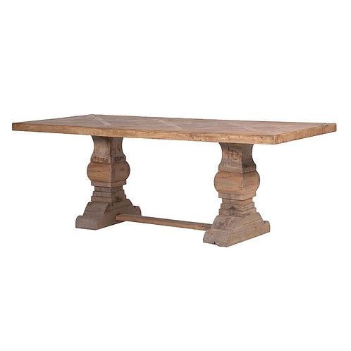 Reclaimed Parquet Table