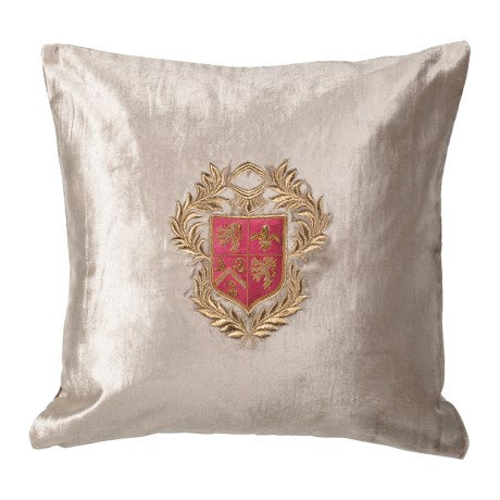 Silver Crest Cushion Cover