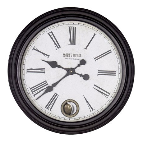 More's Hotel Wall Clock