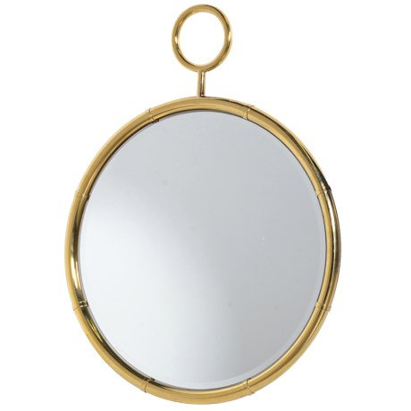 Round Wall Mirror With Ring