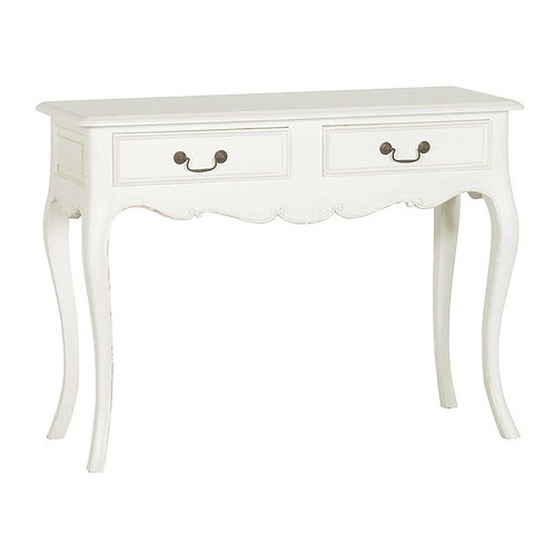 Louis Philippe 2 Drawer Hall Table