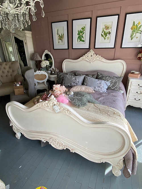 King size Louis Philippe Bed