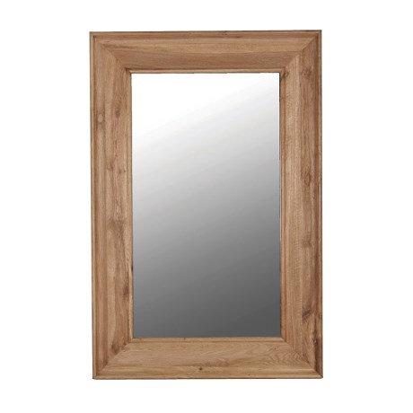 Rustic Oak Mirror