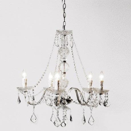 Ornate Crystal Chandelier