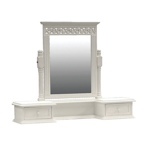 Sophia Dressing Table Top With Mirror
