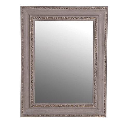 Distressed Grey Mirror
