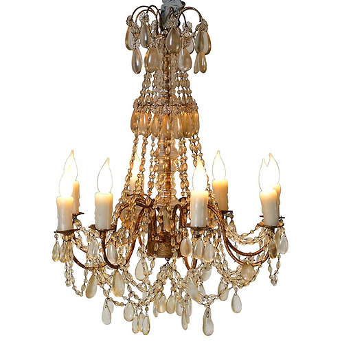 Ornate Candle Lamp Chandelier
