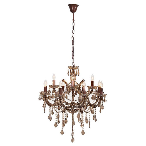 Pearlescent Beads Chandelier