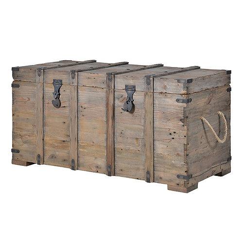 Provincial Reclaimed Pine Blanket Box