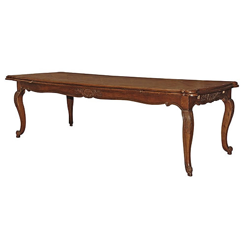Extending Inlaid Dining Table