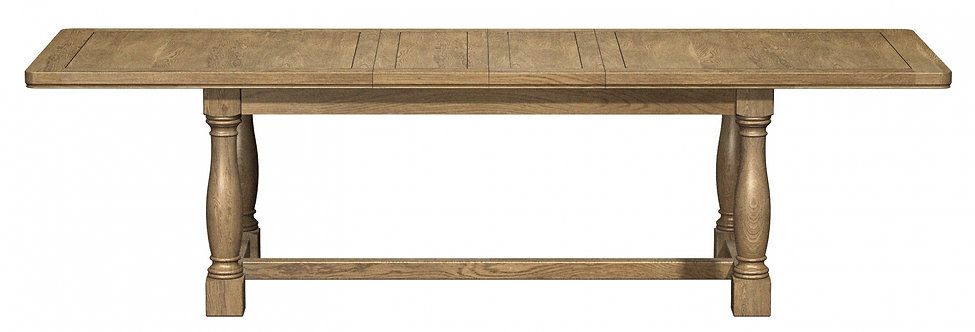 Rectangle Extending Table With Leg Detail