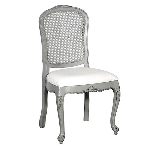 Shaker Grey Rattan Dining Chair