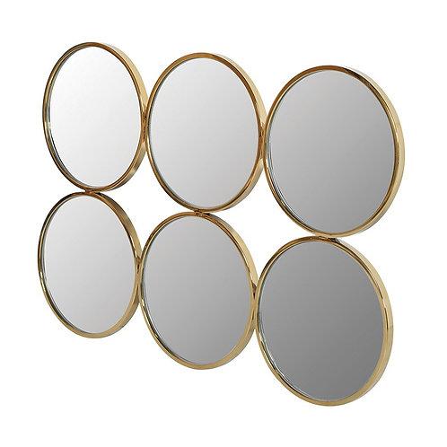 6 Round Mirror Array