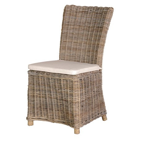 Kuba Side Chair With Cushion
