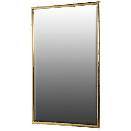 Rectangular Gold Wall Mirror