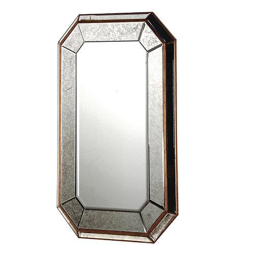 Venetian Antiqued Mitred Mirror