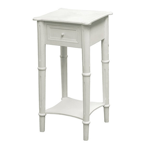 Sophia Bedside Table With Drawer